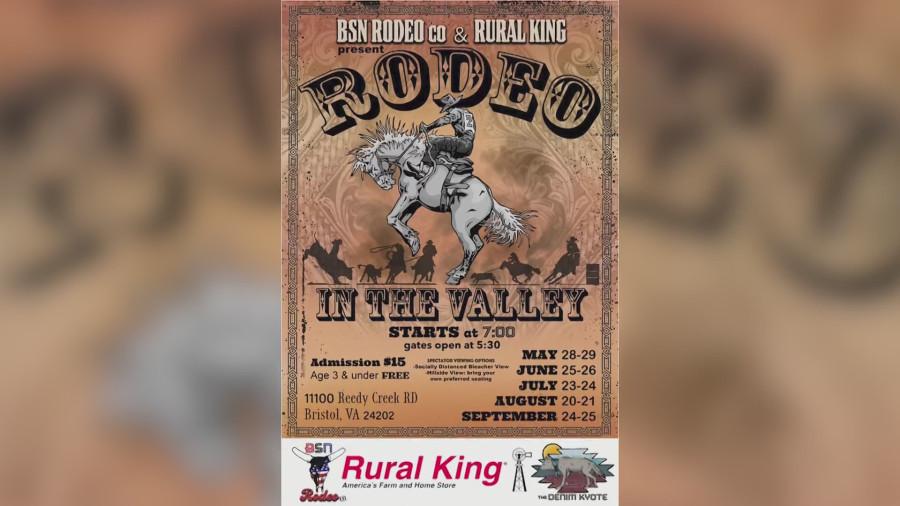 Rodeo in the Valley ، مورد تأیید سرپرستان واشنگتن ، ویرجینیا برای مکان اصلی
