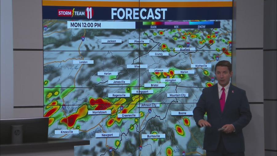 تیم طوفان 11: احتمالاً تا روز دوشنبه باران و رعد و برق پیش بینی می شود