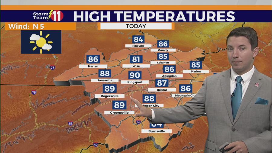 تیم طوفان 11: خورشید ، مه و گرما امروز همراه با باران و طوفان گاهی در روز یکشنبه